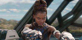 """Letitia Wright como Shuri em """"Pantera Negra"""""""
