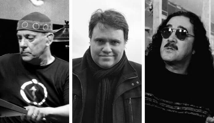 Neil Peart, Rodrigo Rodrigues e Moraes Moreira