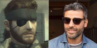 Solid Snake e Oscar Isaac