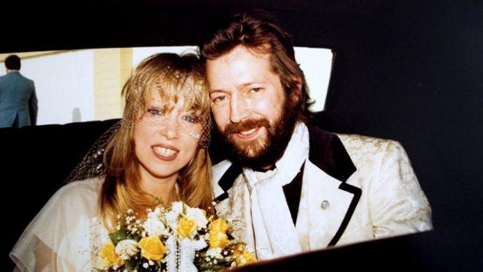 Pattie Boyd e Eric Clapton