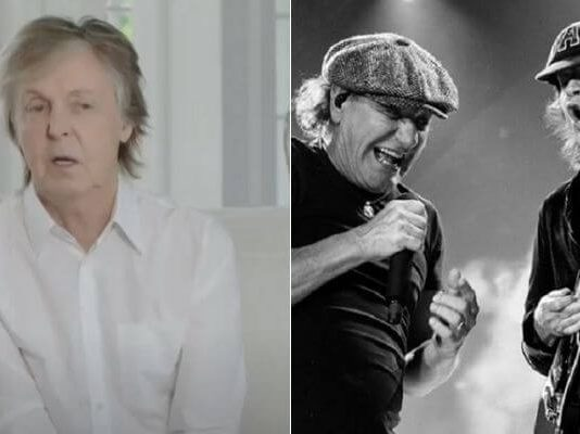 Paul McCartney e AC/DC
