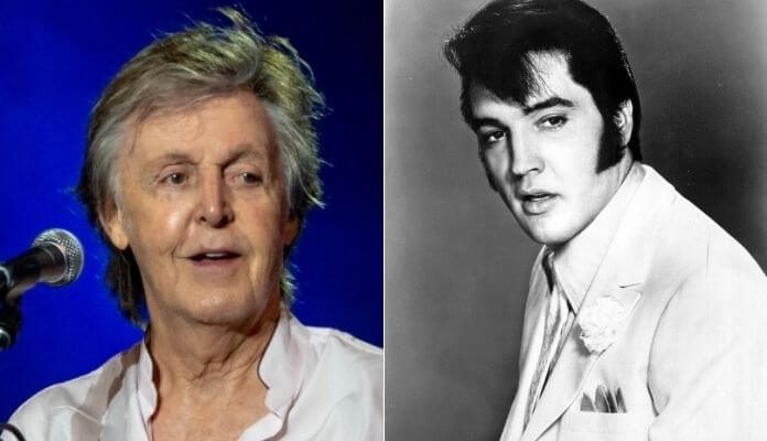 Paul McCartney e Elvis Presley