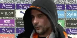 Deepfake de Pep Guardiola cantando Eminem