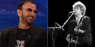 Ringo Starr e Bob Dylan