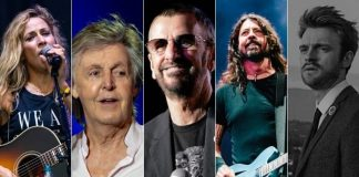Sheryl Crow, Paul McCartney, Ringo Starr, Dave Grohl e FINNEAS