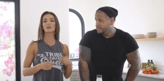 Whitney Johns e Tommy Vext (Bad Wolves)