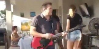 Ximbinha tocando Dire Straits