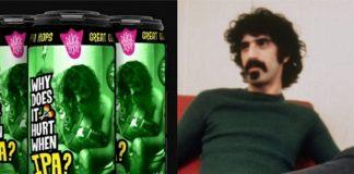 Aniversário de Frank Zappa é celebrado com nova cerveja IPA