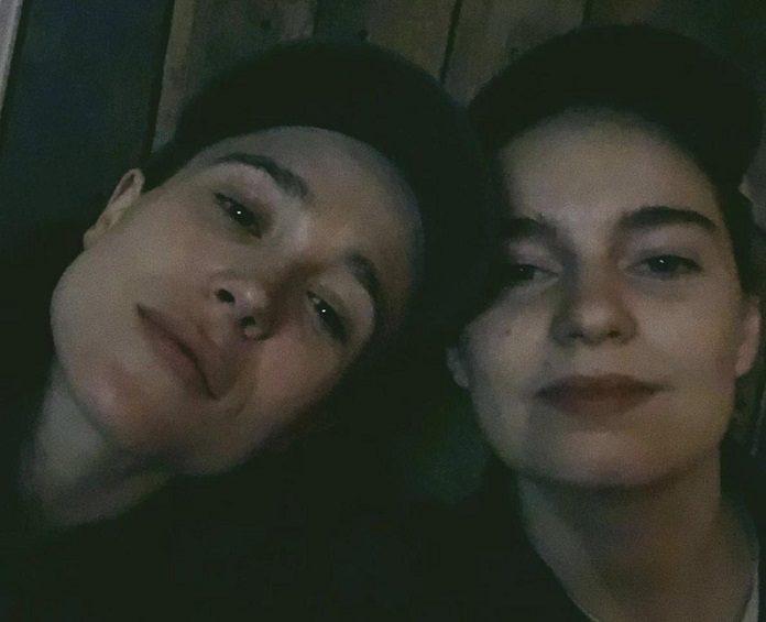 Elliot Page e Emma Portner