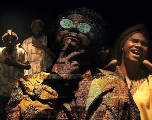 """Afrodizia e Chico César com Young Mbazo no clipe de """"Mand'ela"""""""