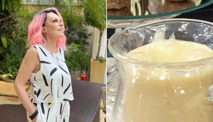 Ana Maria Braga e leite condensado