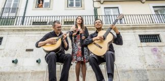 Banda de Fado em Lisboa, Portugal