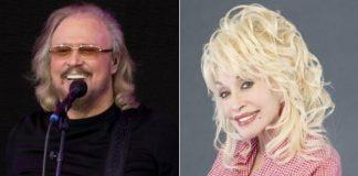 Barry Gibb (Bee Gees) e Dolly Parton