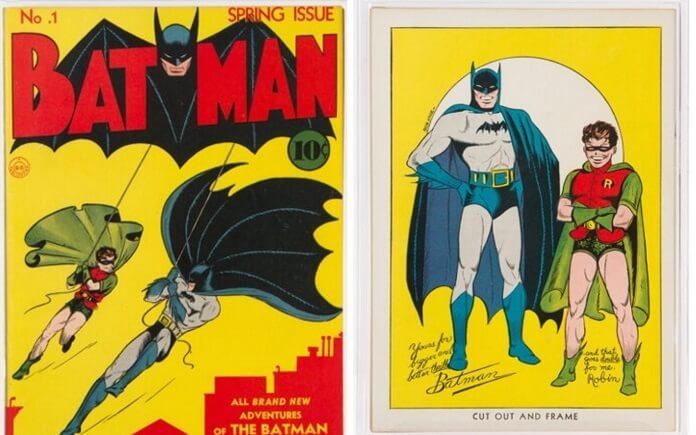 Imagens da HQ Batman nº1