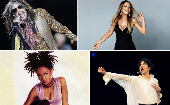 Steven Tyler, Mariah Carey, Lauryn Hill e Michael Jackson