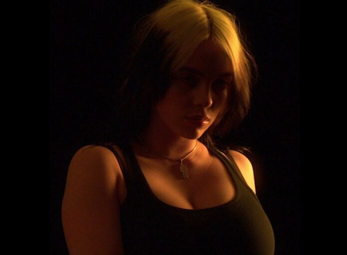 Billie Eilish em vídeo sobre aceitação do corpo