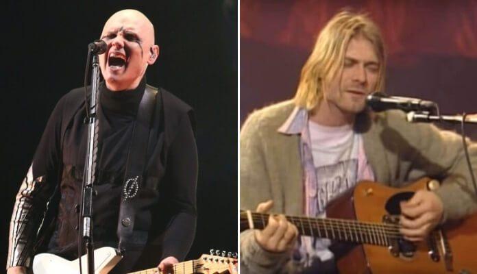 Billy Corgan e Kurt Cobain