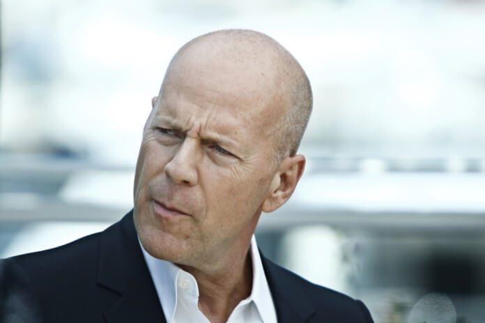 Bruce Willis em Cannes, 2012