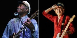 Chuck Berry e Keith Richards