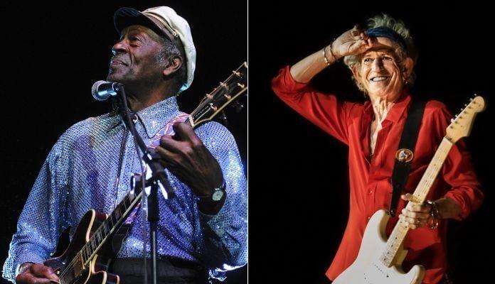 Chuck Berry e Keith Richards