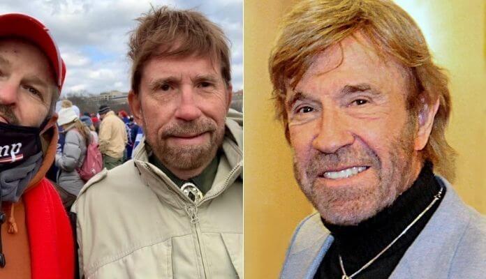 Sósia e Chuck Norris