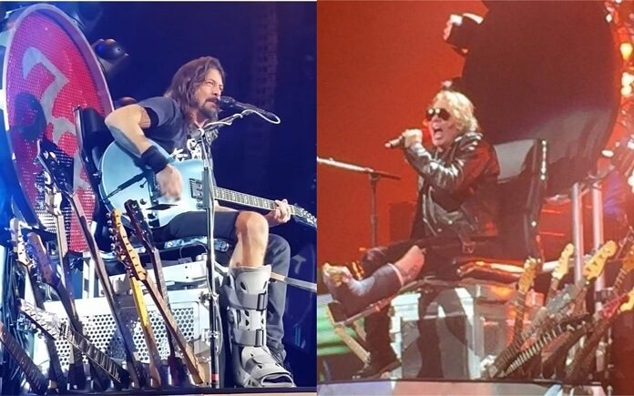 Dave Grohl ganha guitarra após emprestar trono para Alx Rose