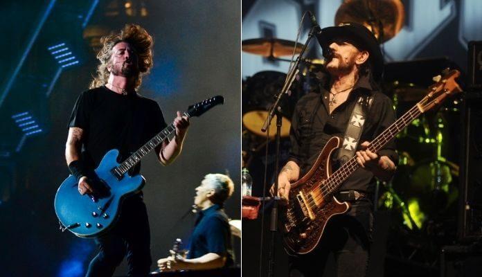 Dave Grohl e Lemmy Kilmister