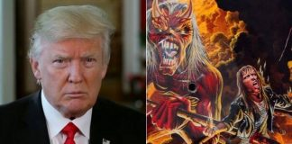 "Donald Trump faz ""cover"" de Iron Maiden"