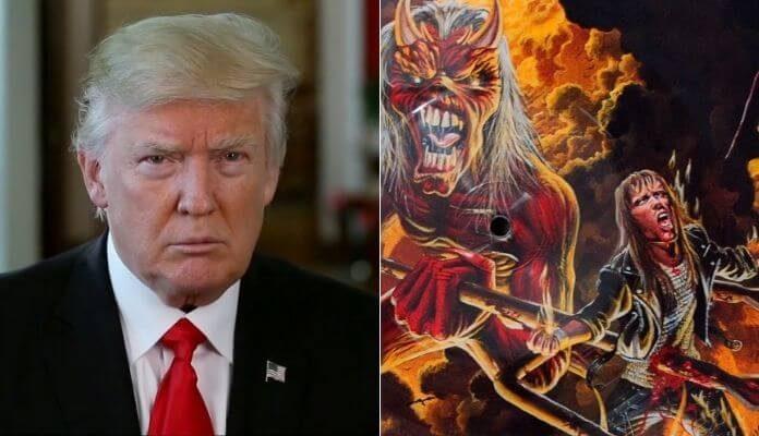 Donald Trump faz