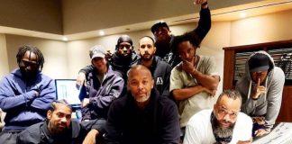 Dr. Dre de volta ao estúdio