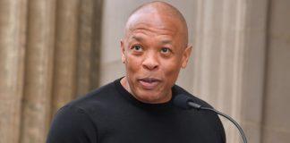 Dr. Dre na Calçada da Fama em 2018