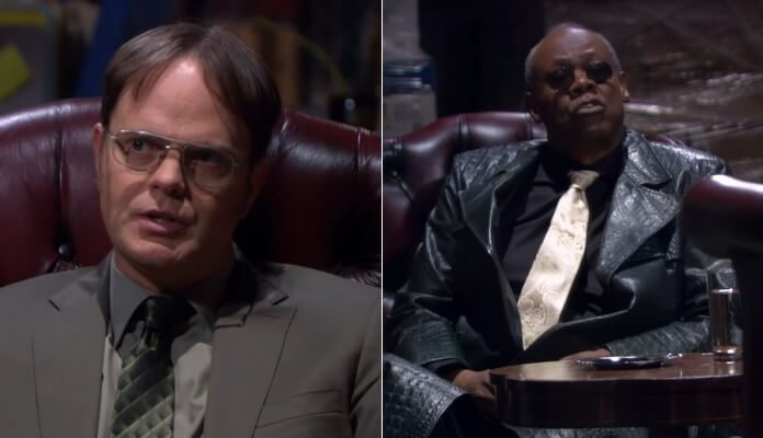 Dwight Scrute (Rainn Wilson) em The Office / Matrix