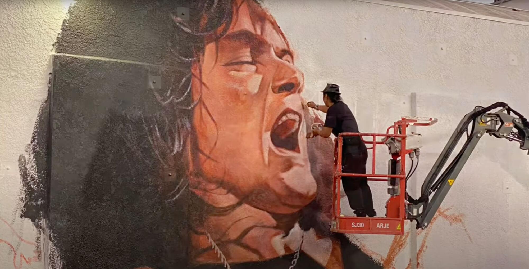 Mural de Eddie Van Halen