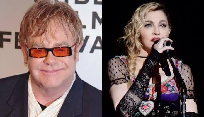 Elton John e Madonna