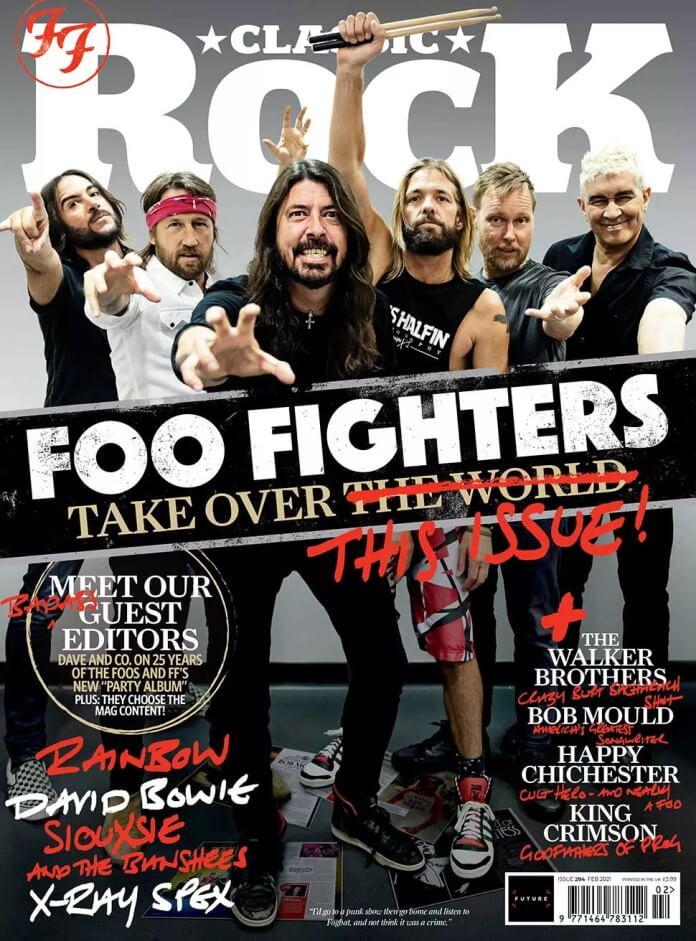 Foo Fighters na revista Classic Rock