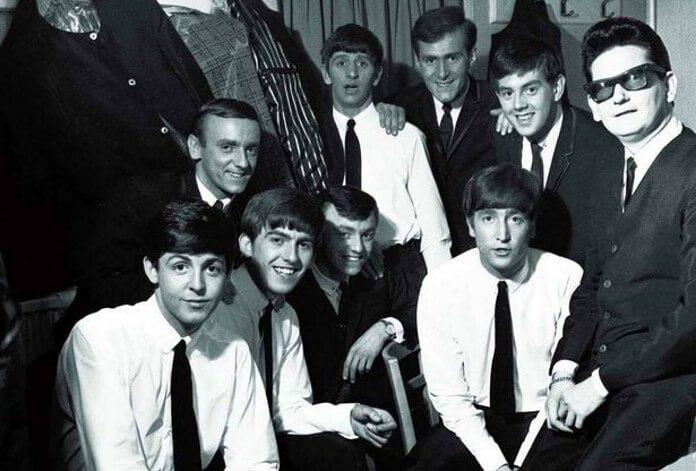 Gerry Marsden com os Beatles