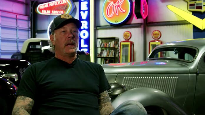 James Hetfield (Metallica) e sua coleção de carros
