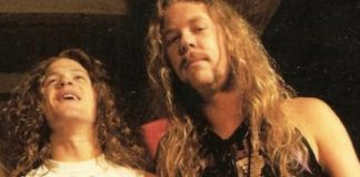 Jason Newsted e James Hetfield