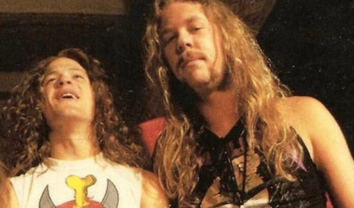 Jason Newsted e James Hetfield