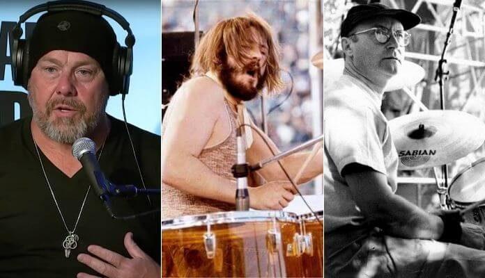 Jason Bonham, John Bonham e Phil Collins