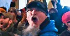 Jon Schaffer, do Iced Earth, na invasão ao Capitólio