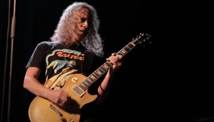 Kirk Hammett (Metallica) com a The Wedding Band