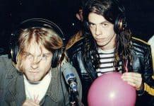 Kurt Cobain e Dave Grohl