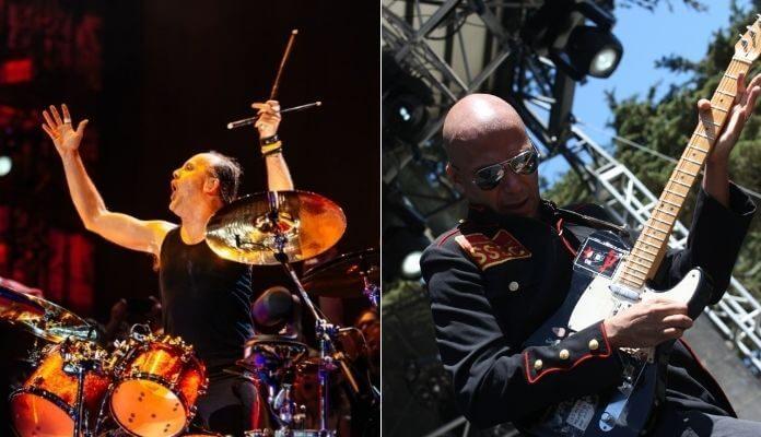 Lars Ulrich e Tom Morello