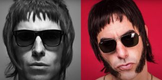 Liam Gallagher e Sacha Baron Cohen