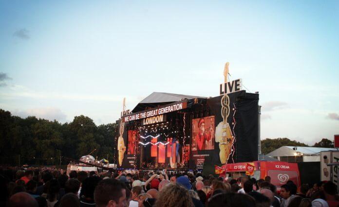 Live 8 em Londres, 2005