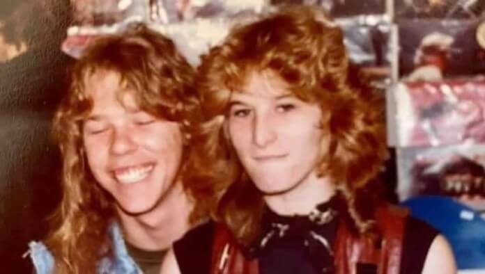 James Hetfield, do Metallica, e Marsha