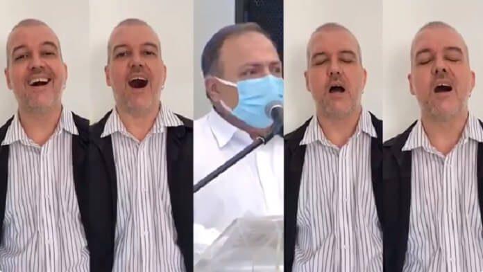 Músico transforma declaração do Ministro da Saúde em som