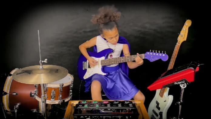 """Nandi Bushell celebra aniversário de Jimmy Page com nova versão de """"Immigrant Song"""""""