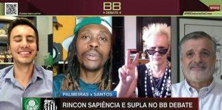 Supla e Rincon Sapiência no BB Debate